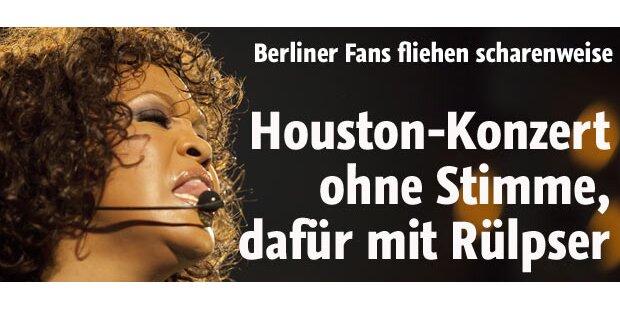 Fans verlassen massenweise Houston-Gig