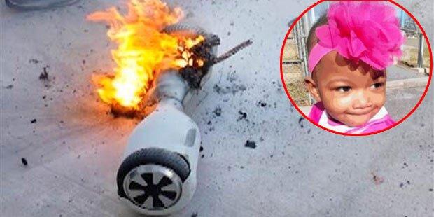 Explodiertes Hoverboard tötet 3-Jährige
