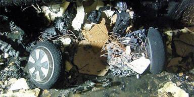 Hoverboard explodiert: Kinder fast tot