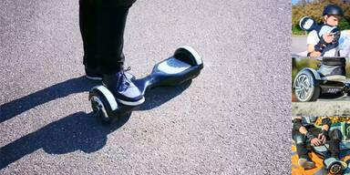 Jetzt bringt Hofer auch noch ein Hoverboard