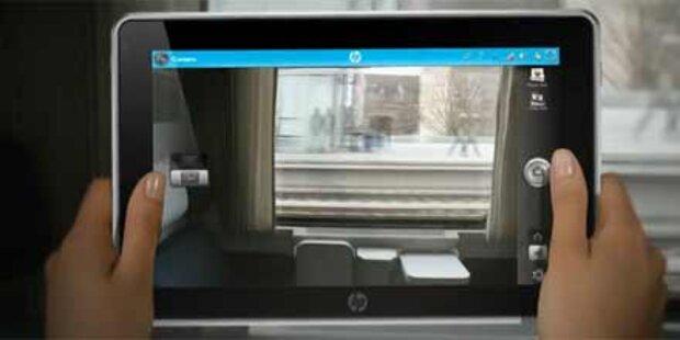 HP bringt zwei Tablets auf den Markt