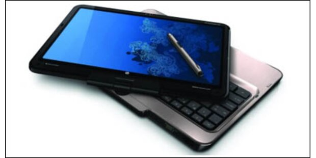 HP Tablet-PC mit Multitouch-Display