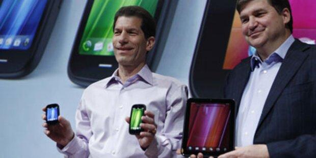 HP: webOS-Tablet und neue Smartphones