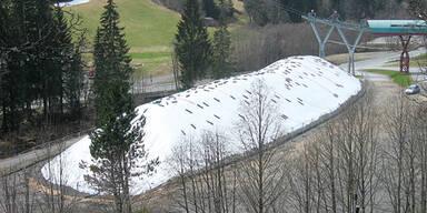 Schneedepot Saalbach