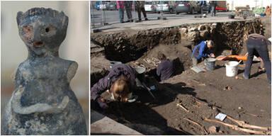 Archäologische Ausgrabungen in St. Pölten