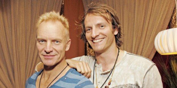 Sting: Attacke vom Sohn