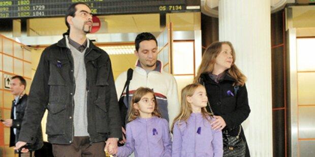 Asyl-Zwillinge wieder daheim