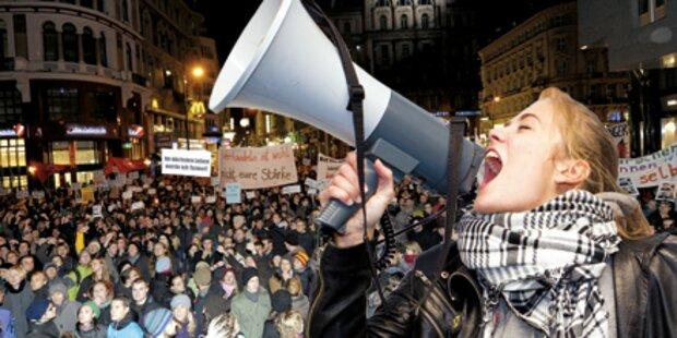 Aufstand gegen das Budget