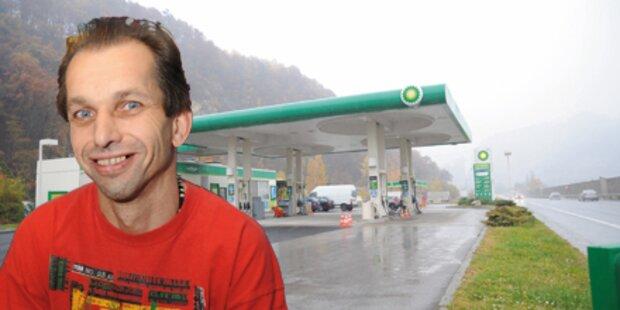 Österreichs coolster Tankwart