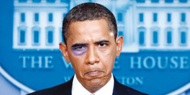 Blaues Auge für Obama