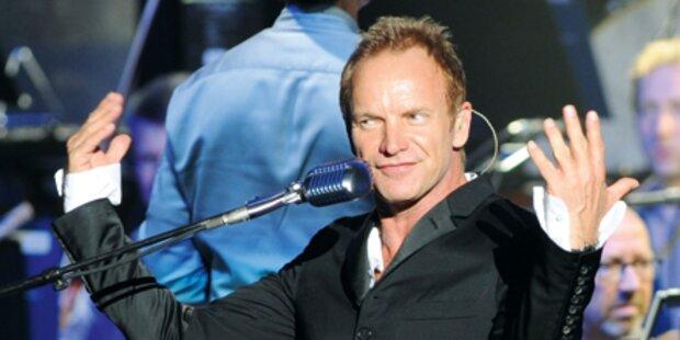Sting: Konzert mit Gefühl und Verstand