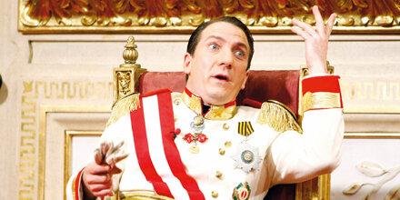 Kaiser Palfrader wird jetzt Bürgermeister