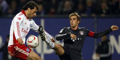 HSV und Bayern teilen sich die Punkte