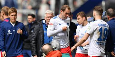 Hamburger SV schlittert in Heim-Blamage