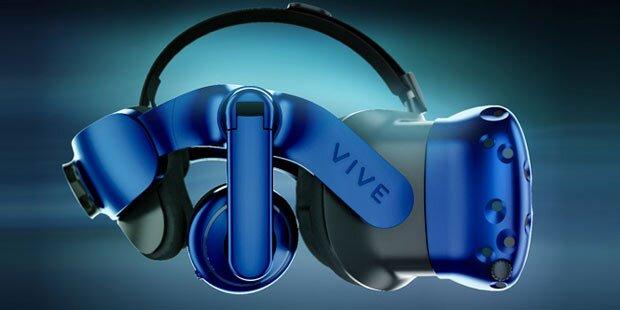 HTC greift mit neuer VR-Brille an