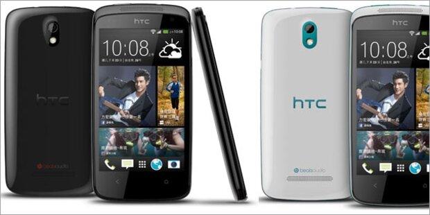 HTC bringt Desire 500 zum Kampfpreis