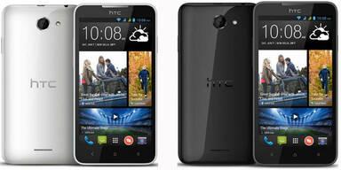 HTC bringt 5-Zoll Androiden um 199 Euro