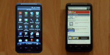 Der HTC Desire HD im großen Test
