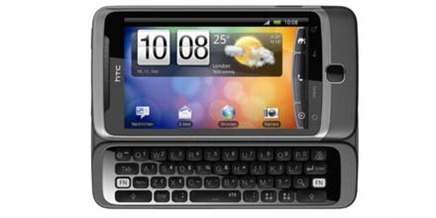 HTC Desire Z startet in Österreich