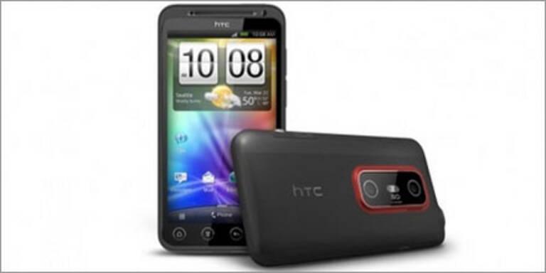 3D-Android-Smartphone von HTC