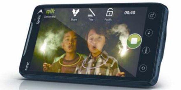 Starttermin für das erste 4G-Smartphone