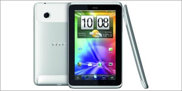 HTC präsentiert 7-Zoll-Tablet-PC