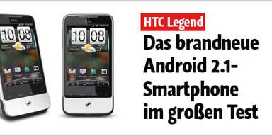 Der HTC Legend im ersten großen Test