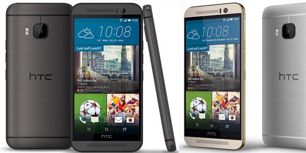 HTC One M9 greift Galaxy S6 & iPhone 6 an