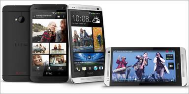 HTC One greift iPhone und Galaxy S4 an