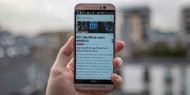 Das neue HTC One A9 im Test