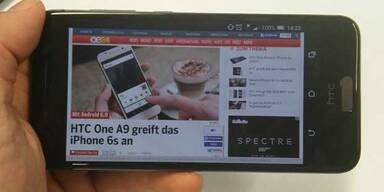 HTC One A9 ist ein echter Lichtblick