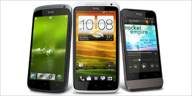 HTC One-Reihe mit Android 4.0 startet