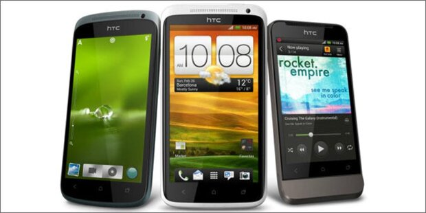 HTC stellt Android 4.0-Flaggschiffe vor