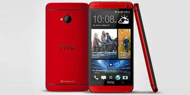 HTC One startet in neuer Farbe durch