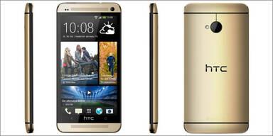 HTC One startet nun auch in Gold