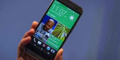 HTC One (M8) top bei Kundenzufriedenheit