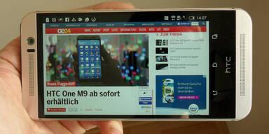 HTC One M9 im oe24.at-Test