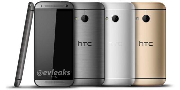 Foto zeigt das neue HTC One mini 2