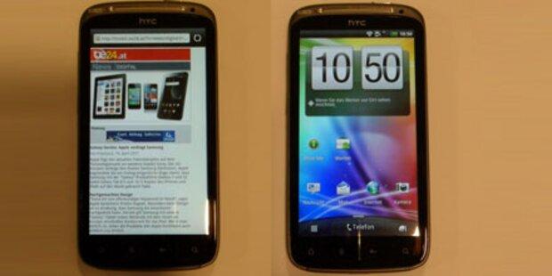 HTC Sensation mit Dual-Core-Chip im Test