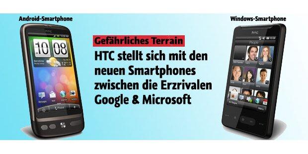 HTC zwischen Android und Windows Phone 7