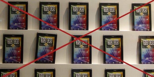 Apple gewinnt im Patentstreit gegen HTC