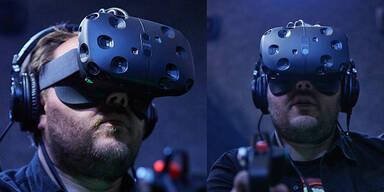 VR-Brille HTC Vive geht an den Start