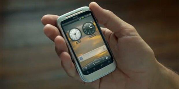 HTC Wildfire 2 in Werbespot aufgetaucht