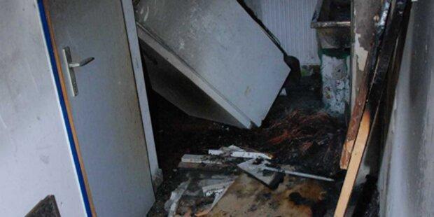 Toilette in HTL Mödling brannte