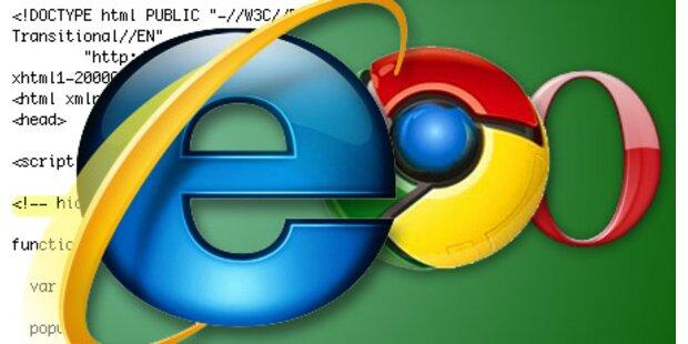 Google & Opera klagen gegen Internet Explorer