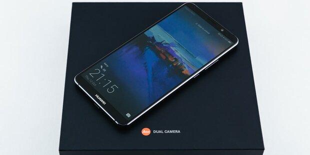 Huawei greift mit neuem Flaggschiff an