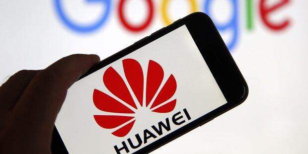 Huawei: Handy-Verkäufe brechen ein