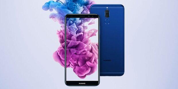 Neues Huawei Mate 10 lite startet