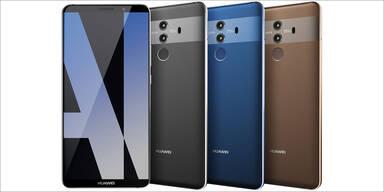 Huawei Mate 10 will auf Smartphone-Thron