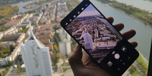 Huawei Mate 10 Pro im oe24-Hands-On